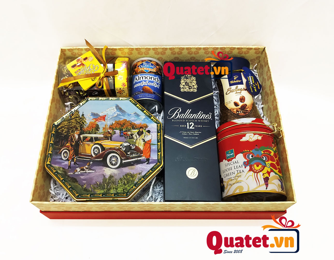 Hộp quà tết xuân QT148