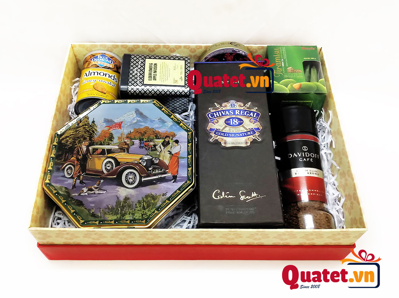 Hộp quà tết xuân QT155