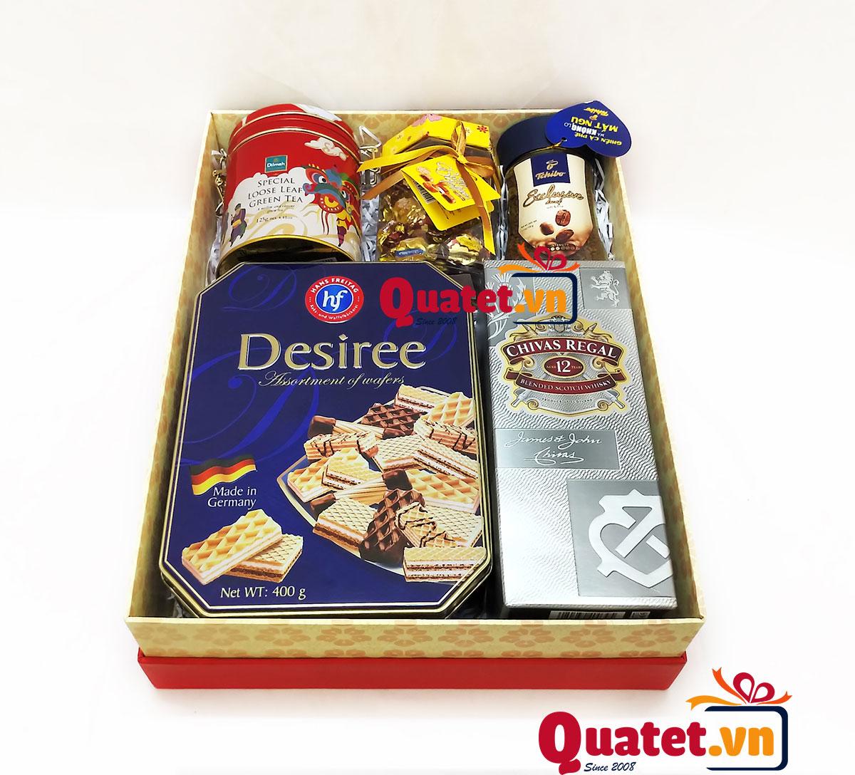 Hộp quà tết xuân QT156