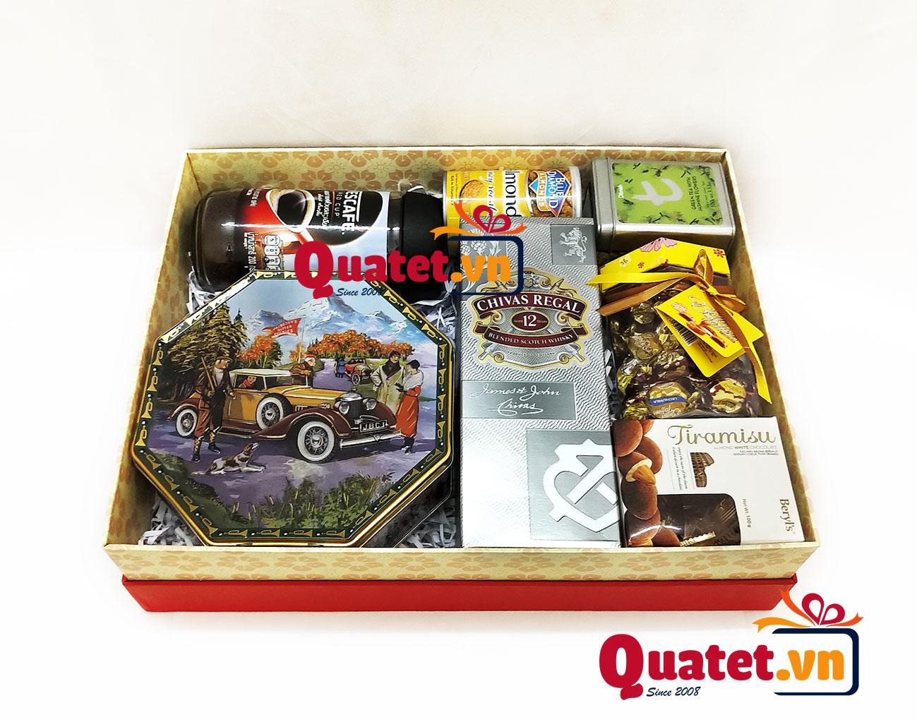 Hộp quà tết xuân QT161