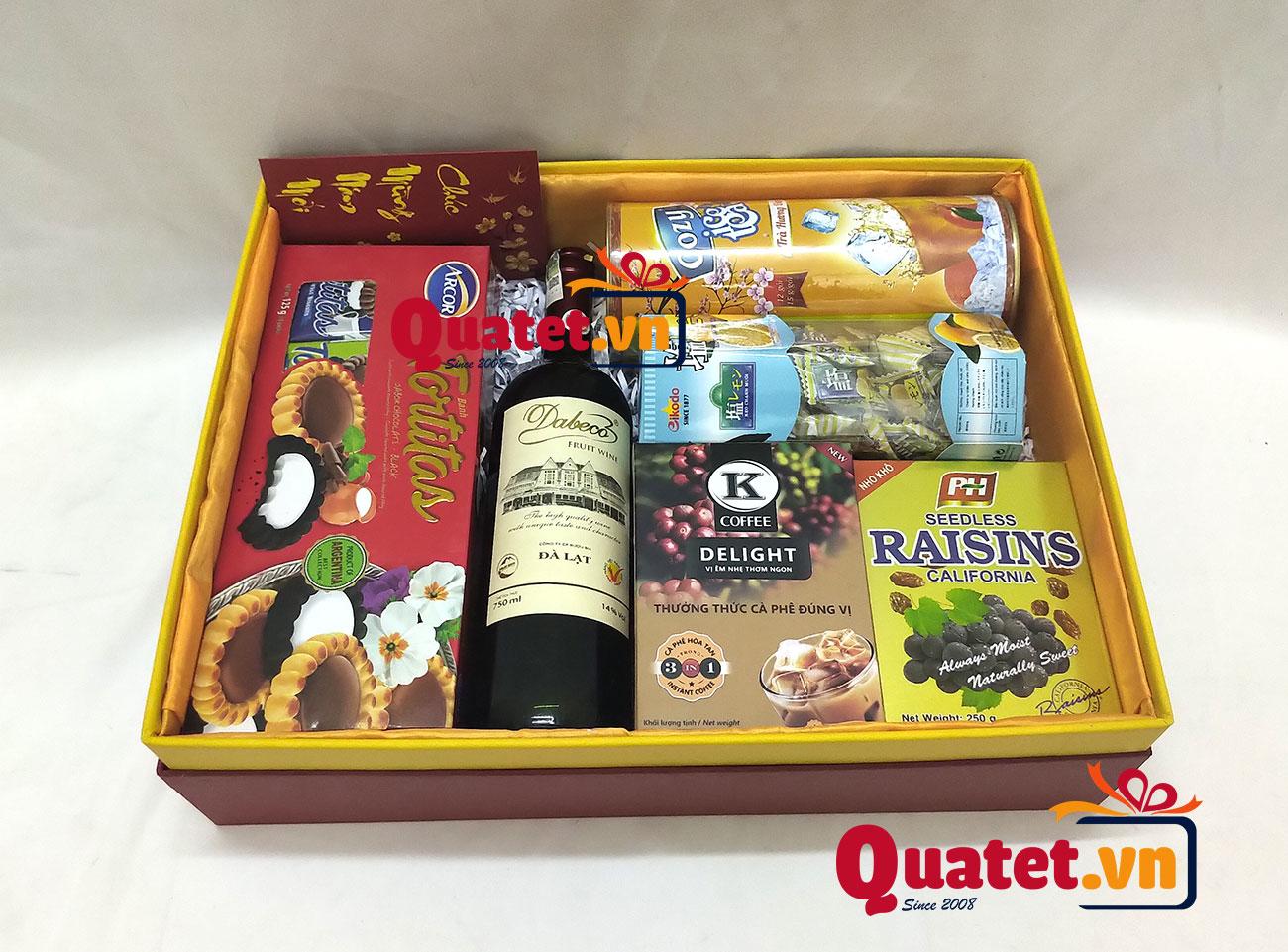 Hộp quà tết xuân QT201